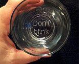 "Dr. Who ""Don't Blink"" Weeping Angels glasses. FANTASTIC!"