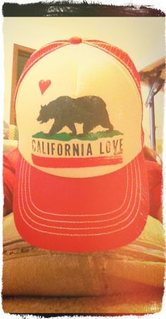 7a27c51ebc5 trucker hat. pacsun. California love. Anne Gates