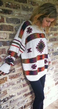 Over Sized Woolen Sweater
