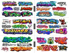 HO Scale Custom Graffiti Decals MEGA SHEET #7 -Weather Your  Box Cars, Hoppers #T2Decals