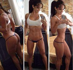Stephanie Davis - Sexy - Abs - Fitness