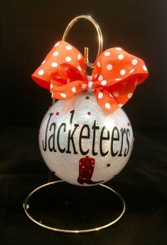 Christmas ornament Drill team ornament by MommasCreations4you