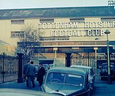 White Hart Lane, 1962 North London, Old London, Spurs Fans, White Hart Lane, Football Stadiums, Tottenham Hotspur, The Republic, Great Britain, London England