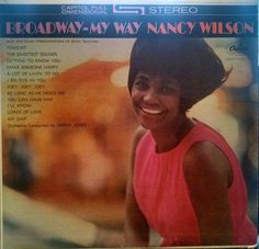 """Nancy Wilson, """"Broadway - My Way,"""" 1963 Capitol Records Vinyl LP - Free Shipping! by BuffaloPopUp on Etsy"""