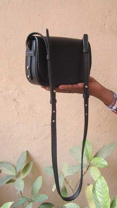 Slate Little Stefanie, Chiaroscuro, India, Pure Leather, Handbag, Bag, Workshop Made, Leather, Bags, Handmade, Artisanal, Leather Work, Leather Workshop, Fashion, Women's Fashion, Women's Accessories, Accessories, Handcrafted, Made In India, Chiaroscuro Bags - 2