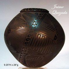 RARE Unique Fine Mata Ortiz Olla by Jaime Quezada Masters Juan Nefew | eBay