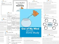 Out of My Mind Read Aloud Novel Study  Comprehension Questions, 3 page Test, Point of View, Character Traits, and Visualization Worksheet. Tic-Tac-Toe assignment (9 activities/writing prompts)
