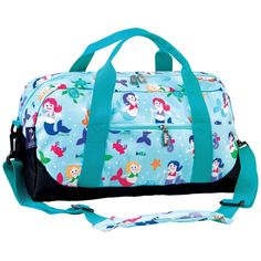 Olive Kids Mermaids Overnighter Duffel Bag by wildkin