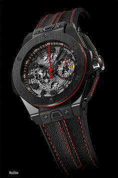 eec555d3ef2 Best Hublot 2014 New Big Bang Ferrari Russia Carbon Black Ceramic fake watch