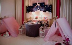 Sweet Dreams, A Starry Night Slumber Party by Sweet Memories Party Designs