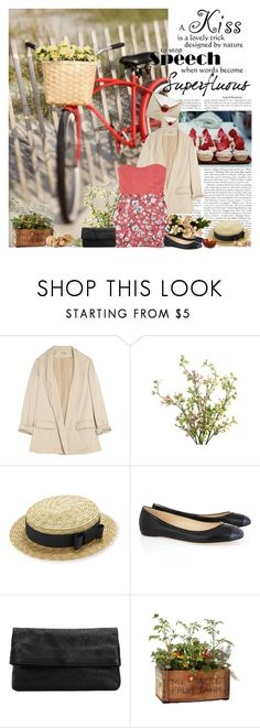 """My advice to you is get married: if you find a good wife you'll be happy; if not, you'll become a philosopher. - Socrates"" by natza ❤ liked on Polyvore featuring Loeffler Randall, Pier 1 Imports, Reed Krakoff, Nicole Miller, fedora hats, ballet flats and blazers"