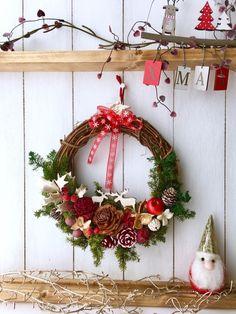 『秋のワークショップ開催』私だけのクリスマスリースを作りましょう♪ フラワー・リース kamiyu ハンドメイド通販・販売のCreema