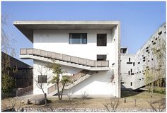 China Academy of Art, Xiangshan Campus. Wang Shu (Amateur Architecture Studio), 2007. Hangzhou, China.