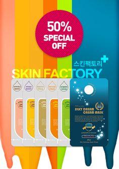 [SKIN FACTORY] Daily Ampoule Mask set (6pcs) $12.50 #maskpack #beauty #wishtrend…