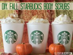 DIY: Fall Starbucks-Inspired Body Scrubs