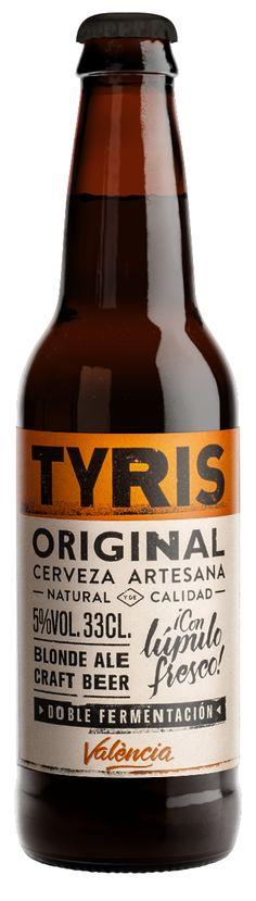 Resultado de imagen de tyris original Valencia, Food Graphic Design, Corona Beer, Beer Bottle, Natural, The Originals, Drinks, Ale, Drinking