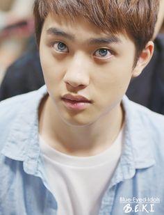 BLUE EYED K-POP IDOLS: #422  Do Kyungsoo (D.O) - EXO-K