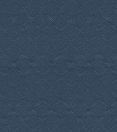 Waverly Home Decor Solid Fabric Newport Matelasse Indigo