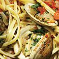 Linguine with Herb Broth and Clams