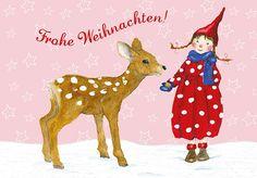 Daniela Drescher Winter Illustrations | Greengate Onlineshop .:: HIHOLA - HOUSE & GARDEN ::. - Daniela ...