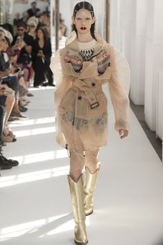 Haute couture, more like COAT COUTURE!