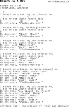 Pete The Cat I Love My White Shoes Song Chords