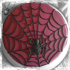 Spiderman cake - Torta Hombre Araña