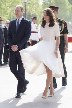 Kate Middleton's India Tour Wardrobe - April 11, 2016