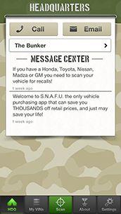 Snafu Scan used car app n recalls