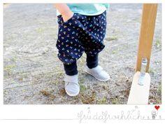Niedliche Pumphose mit Taschen von friedafroehlich auf DaWanda.com