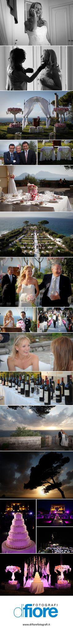 Matrimonio a Massalubrense, Villa Angelina...
