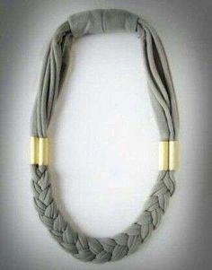 Collar de trapillo: Fotos de diseños (Foto 3/20) | Ella Hoy