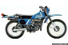 Motorcycle Pattern Parts Vintage Bikes, Vintage Motorcycles, Suzuki Ts125, Sweatshirt Homme, Ts 100, Enduro, Moto Bike, Motorcycle Parts, Yamaha