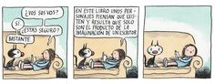 Liniers Alter Ego, All You Need Is Love, Neverland, Funny, Fan Art, Cartoon, Illustration, Bookstores, Flora