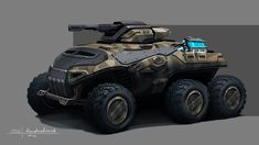 Concept cars and trucks: Concept military vehicles by Sergey Kondratovich Concept Cars und Trucks: Concept Military Vehicles von Sergey Kondratovich Army Vehicles, Armored Vehicles, Soldado Universal, Gi Joe, Future Weapons, Futuristic Cars, Military Equipment, War Machine, Cars For Sale