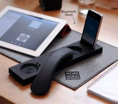 Bluetooth dock for any mobile device