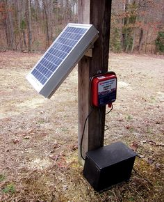 How To Install A Solar Powered Electric Fence Pasture Fencing, Horse Fencing, Farm Fence, Diy Fence, Fence Ideas, Horse Barns, Garden Ideas, Horses, Solar Power Energy