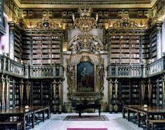 Bibliothèque de l'université de Coimbra, Coimbra, Portugal