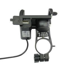 #BangGood - #Eachine1 Universal Motorcycle Bike Holder USB Charger Mount Handlebar Phone GPS Cradle - AdoreWe.com