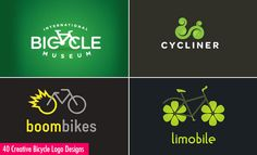 40 Creative and Brilliant Bicycle Logo Designs for your inspiration. Read full article: http://webneel.com/best-bicycle-logo-design-inspiration | more http://webneel.com/logo-design | Follow us www.pinterest.com/webneel