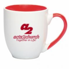 Promotional Personalized Wedding Party Favor 72 Custom Printed Bistro Mugs