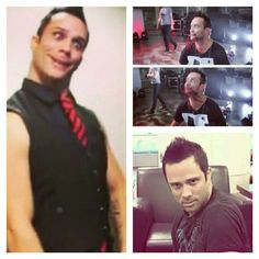 The many hilarious faces of John Cooper of Skillet.
