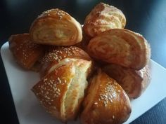 Vajdasági sós recept lépés 7 foto Pretzel Bites, Baked Potato, French Toast, Bread, Baking, Breakfast, Ethnic Recipes, Food, Bread Making