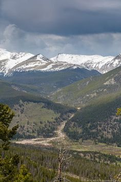 Two Days Visiting Rocky Mountain National Park and Estes Park, Colorado