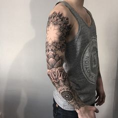 Tattoos for Men by Sashatattooing (7)