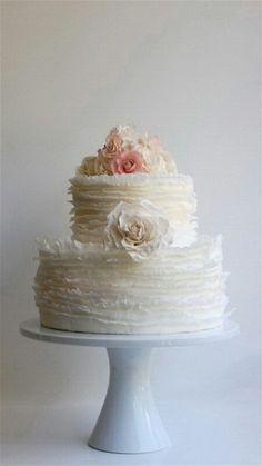 Paper thin Ruffle cake