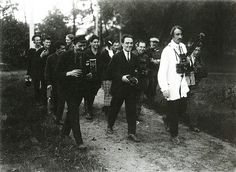 Arkady Shaikhet / Аркадий Шайхет. Слет фотокоров  1926 г.