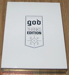 GOD G.O.D 8TH ALBUM CHAPTER 8 THANKS EDITION WIND L.E K-POP 2 CD + PHOTOBOOK NEW  US $18.50