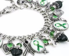 Mental Health Awareness Charm Bracelet