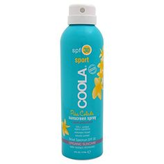 COOLA Organic Suncare EcoLux Size Pina Colada Body Sunscreen Spray SPF 30 8 fl Ounce >>> For more information, visit image link.Note:It is affiliate link to Amazon.